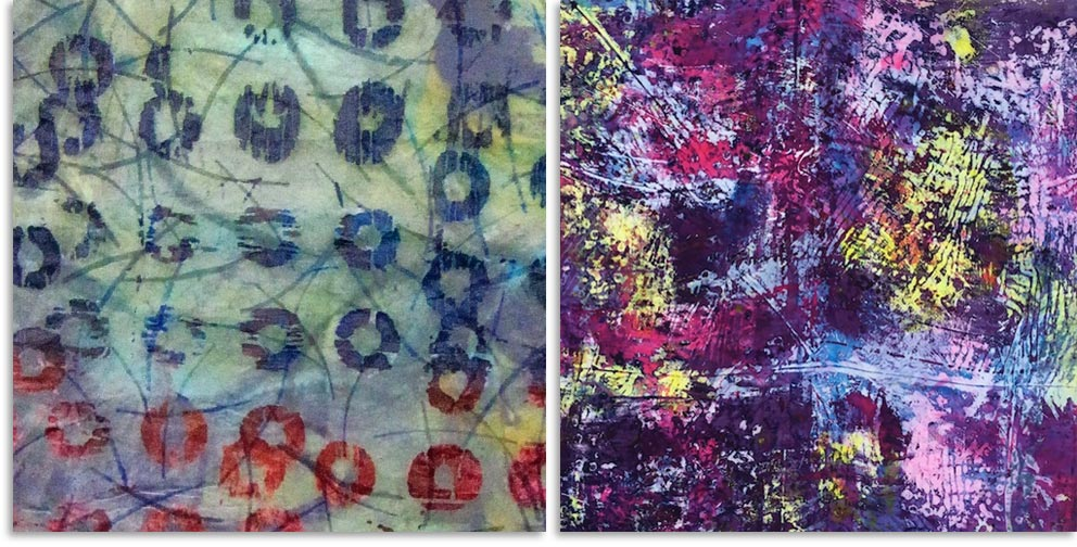 Carol Soderlund fabric dyeing classes
